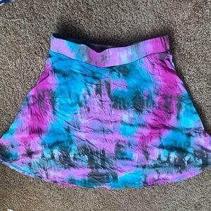 Charlotte Russe Skirts - Charlotte Russe tie-dye mini skirt